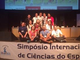 Participação da Universidade Federal de Santa Catarina no evento com membros do grupos de pesquisa NuPAF, NuCIDH, LAPE e LAEF.