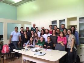 Explanação da pesquisa realizada pelo Prof. Dr. Matias Roberto Loch (UEL/PR).