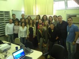 Explanação da pesquisa realizada pelo Prof. Dr. Wagner Prado (UNIFESP/SP).